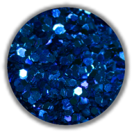 Dazzling Paillets 1mm -metallic blau-