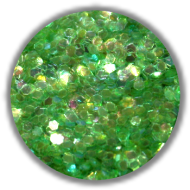 Dazzling Paillets 1mm -green-